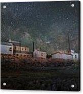 Milky Way Over Standard Mill Acrylic Print