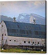 Mill Creek Barn Acrylic Print