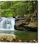 Mill Creek Falls #1 Acrylic Print