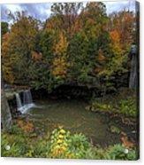 Mill Creek Park In Autumn Acrylic Print