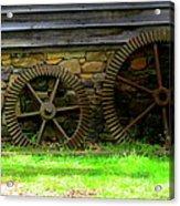Mill Gears Acrylic Print