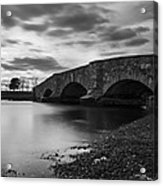 Mill Gut Bridge Acrylic Print