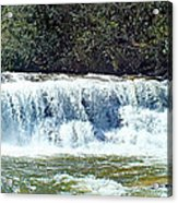 Mill Shoals Waterfall During Flood Stage Acrylic Print