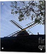 Mill - Silhouette Acrylic Print