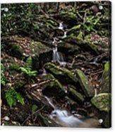 Millcreek Road Waterfall Acrylic Print