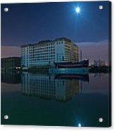 Millenium Mills Spillers Docklands Acrylic Print