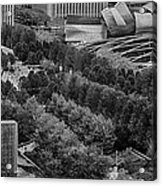 Millenium Park From Above Acrylic Print