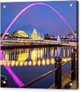 Millennium Bridge - Gateshead Acrylic Print
