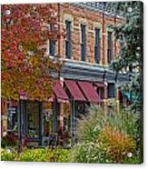 Miller Block Acrylic Print by Keith Ducker