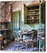 Miller House Kitchen Acrylic Print