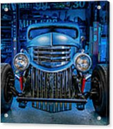Millers Chop Shop 1946 Chevy Truck Acrylic Print