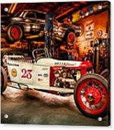 Millers Chop Shop Track T Toyota Acrylic Print