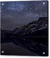 Millky Way Over Tenaya Lake Acrylic Print