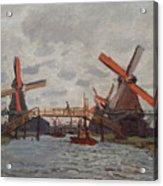 Mills At Westzijderveld Acrylic Print