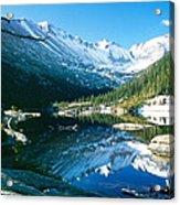 Mills Lake Acrylic Print by Eric Glaser