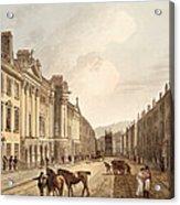 Milsom Street, From Bath Illustrated Acrylic Print