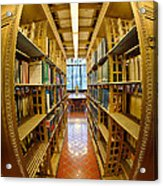 Milstein Room Nyc Library Acrylic Print