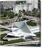 Milwaukee Art Museum Aerial Acrylic Print