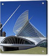 Milwaukee Art Museum - Calatrava Acrylic Print by James Hammen