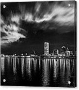 Milwaukee At Night Acrylic Print