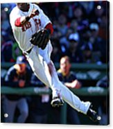 Milwaukee Brewers V Boston Red Sox Acrylic Print