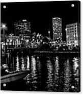 Milwaukee Downtown Third Ward Acrylic Print