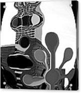 Milwaukee In Abstract Acrylic Print
