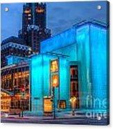 Milwaukee Pac Evening Glow Acrylic Print