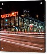 Milwaukee Public Market Acrylic Print