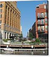 Milwaukee River Architecture 5 Acrylic Print