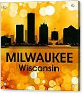 Milwaukee Wi 3 Acrylic Print by Angelina Vick