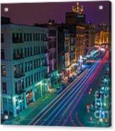 Milwaukee's Evening Active Glow Acrylic Print