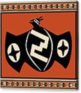 Mimbres Tribal Bat Spirit Acrylic Print
