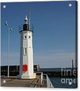 Mimicking A Lighthouse Acrylic Print