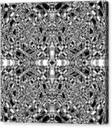 B W Sq 5 Acrylic Print