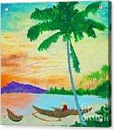 Mindanao Sunset Acrylic Print