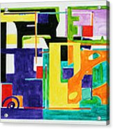 Mindscape II Acrylic Print