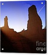 Mine Is Bigger Than Yours Acrylic Print