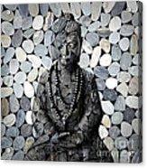 Mineral Buddha Acrylic Print