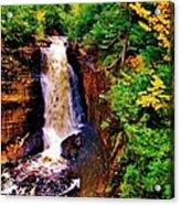 Miner's Falls Acrylic Print