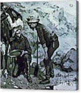 Miners Prospecting Acrylic Print