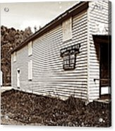 Mingo Post Office And Foxhill Farms General Store Acrylic Print