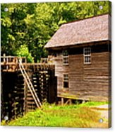Mingus Mill Acrylic Print by Karen Wiles