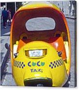 Mini-cab Acrylic Print