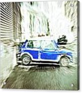 Mini Car Acrylic Print by Tom Gowanlock