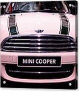 Mini Cooper Acrylic Print