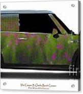 Mini Cooper S Normandy Cosmos Acrylic Print