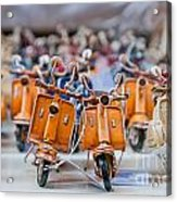 Mini Scooters Acrylic Print by Marion Galt