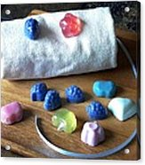 Mini Soaps Collection Acrylic Print