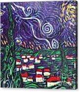 Mini Starry Night Acrylic Print